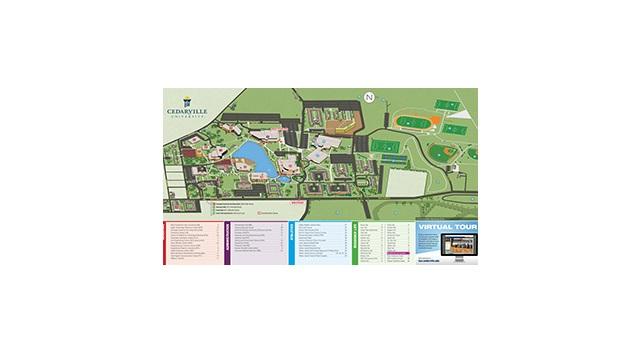 Campus Map Cedarville University