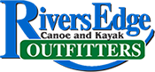 Logo Rivers Edge Canoe and Kayak Outfitters
