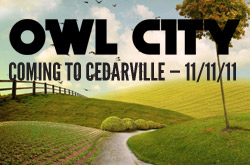Owl City to visit Cedarville University