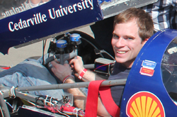 Cedarville engineering student competes in the Shell Eco-Marathon