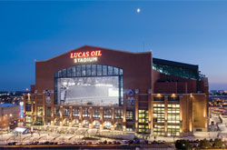Lucas Oil Stadium - bid on Super Bowl tickets in Indianapolis on the Cedarville Scholarship Online Auction!