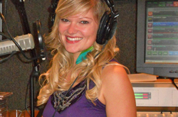 Joy McBride '10 now works as a morning show co-host and community impact director for the Christian radio station WAY-FM in Fort Myers, Florida.