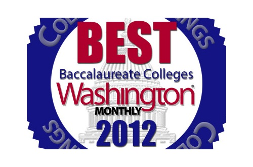 Washington Monthly Ranks Cedarville 13th Among Baccalaureate Colleges