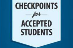 Checkpoints for Accepted Students