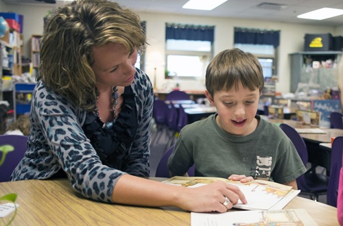 Starting this fall, Cedarville University will offer a graduate-level reading endorsement that will qualify teachers with Ohio licenses to provide focused reading instruction for students in kindergarten through 12th grade. Photo credit: Scott L.  Huck/Cedarville University