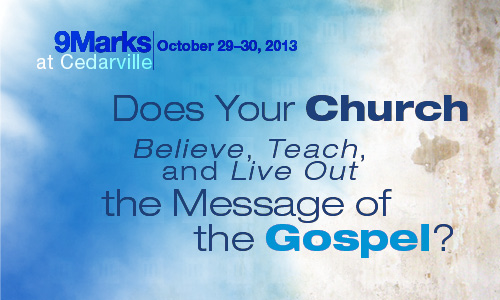 9Marks Conference at Cedarville University