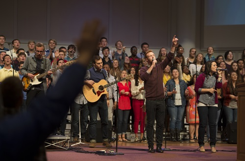 fall bible conference worship team