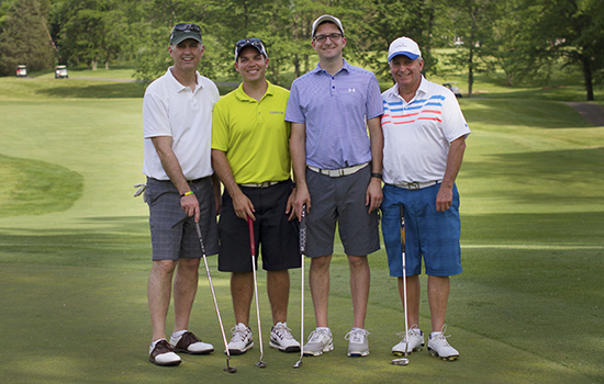 Golfers at Cedarville Golf Outing