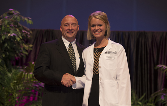 Chambers receives white coat