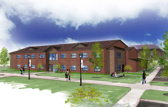 Jenkins Hall is slated to open Fall 2017