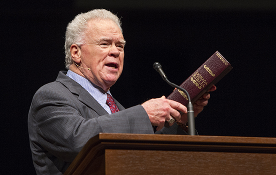 Paige Patterson in chapel