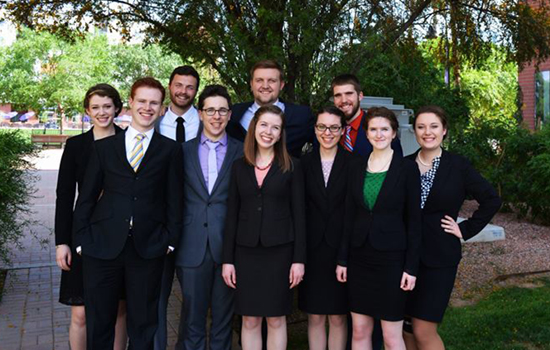 Speech team at Nationals