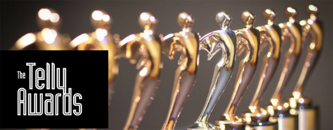 Image of Telly Award figurines