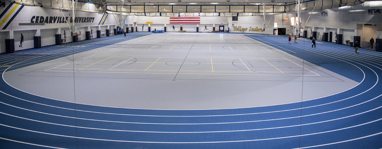 New field house surface