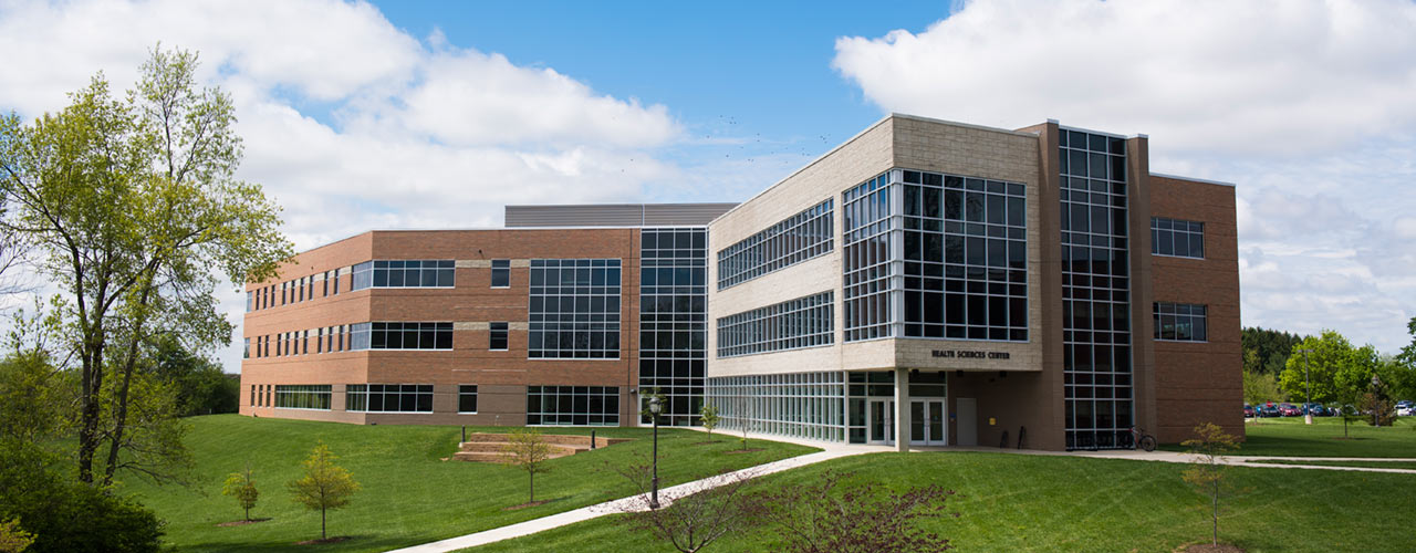 Exterior of Cedarville Health Sciences Center