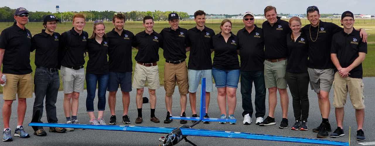 Cedarville seniors part of SAE Aero Design 4th place team