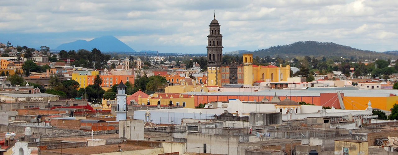 Picture of Puebla, Mexico.