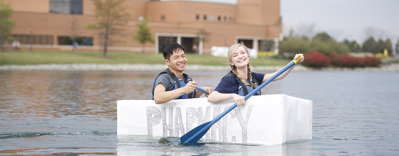 Cardboard canoe race celebrates 25th year as beloved Cedarville University Homecoming Weekend event