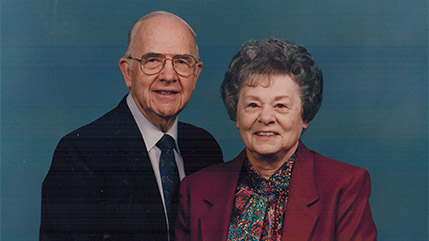 Roger and Charlotte Kuriger