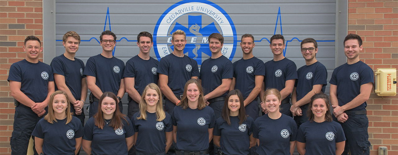 Cedarville University EMS, the first collegiate emergency medical service in the U.S., turns 50 this year.