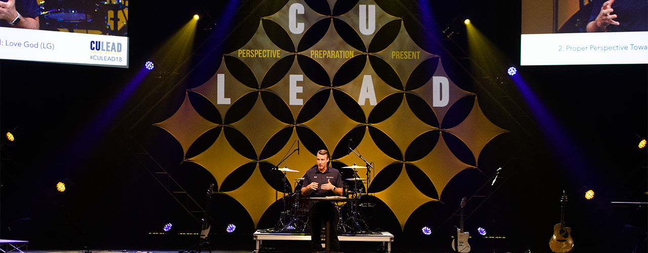 "Cedarville University's fifth annual CU LEADership Conference, ""Lead with Courage,"" will be held January 19, 2019."