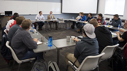 """Coffee Talks"" provide extra stimulation for MDiv students."