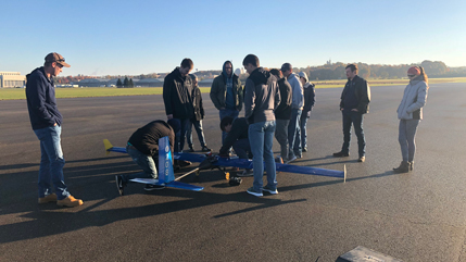 Cedarville engineering design team preparing for Mission to Mars contest