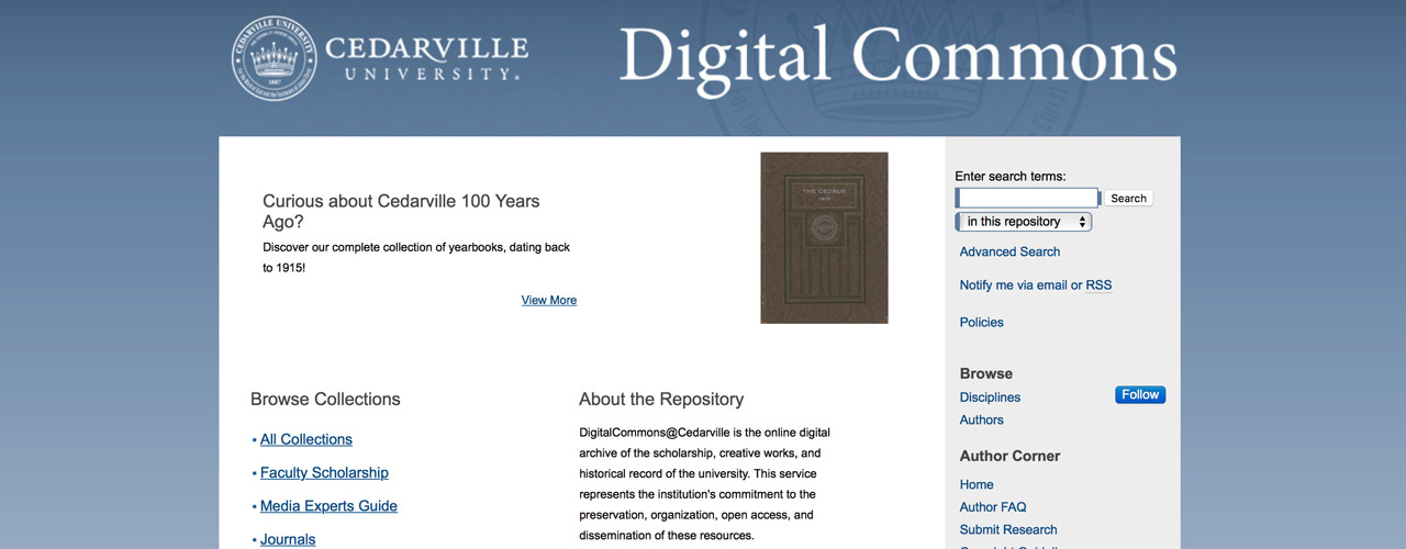Digital Commons archive