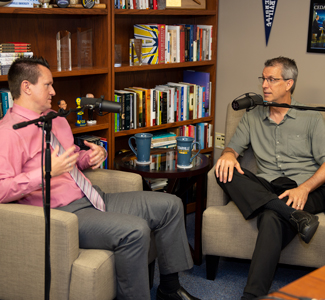 Cedarville Stories podcast with Dr. Glen Duerr