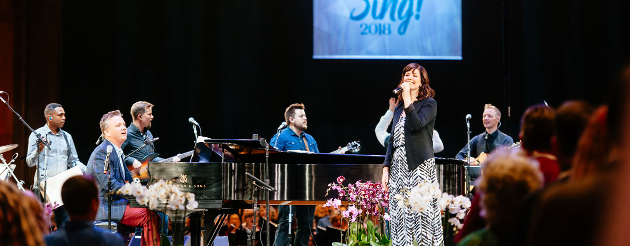 Keith and Kristyn Getty in concert
