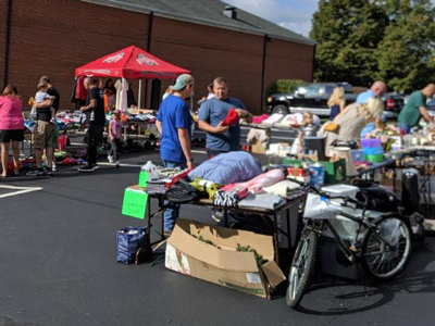 Community-wide garage sale in support of the Davises adoption