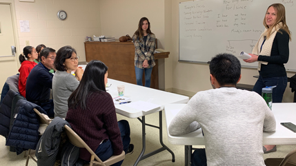 English as a Second Language classes at Redeemer Orthodox Presbyterian Church in Beavercreek, Ohio.