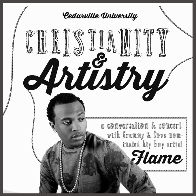 Christianity & Artistry - conversation and concert with hip hop artist Flame