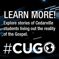 Learn more! Explore stories of Cedarville Students living out the reality of the Gospel. #CUGO