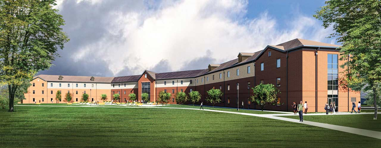 The New 282-Bed Residence Hall to Be Built on Campus