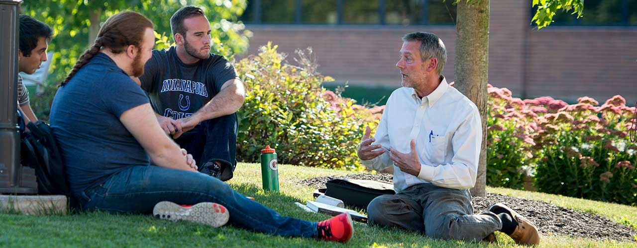 Faculty discuss outside