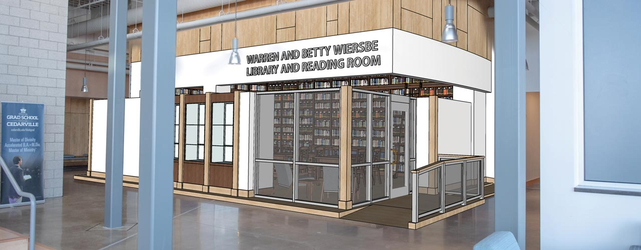 The New Wiersbe Library to Be Built on Campus