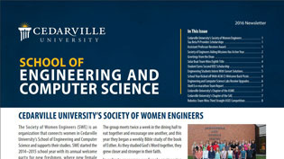 Engineering newsletter cover