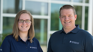 Two Cedarville staff members