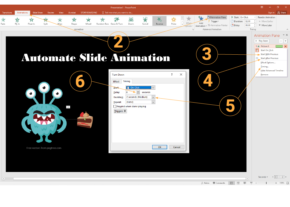 Automate Slide Animations - How To Get A Video To Play Automatically In Powerpoint