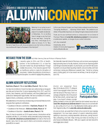 April 15, 2019 AlumniConnect Newsletter Thumbnail