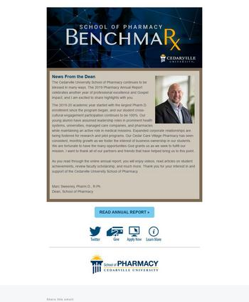 Thumbnail of the March 2020 BenchmaRx e-newsletter