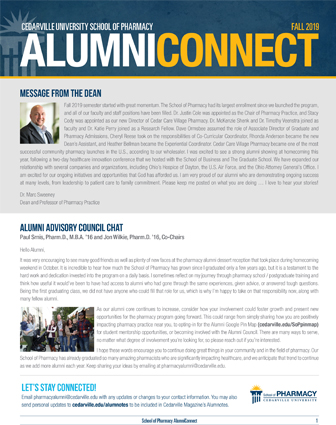 Alumni Connect, December 2019 Edition