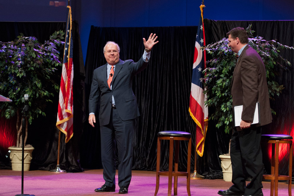 Karl Rove Visits Cedarville University
