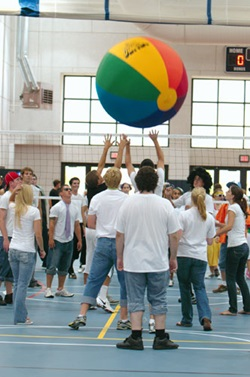 Beachball Volleyball
