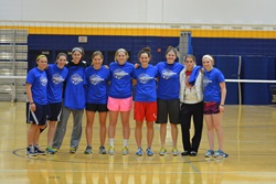 Women Intramural Volleyball Champs