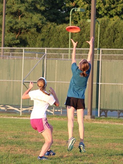 Campus Recreation, Ultimate Frisbee, Fall 2016Campus Recreation, Ultimate Frisbee, Fall 2016