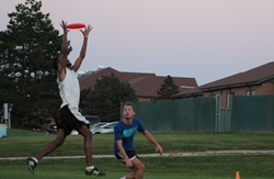 Campus Recreation, Ultimate Frisbee, Fall 2016