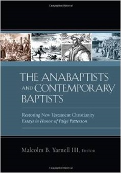 Anabaptists and Contemporary Baptists book cover