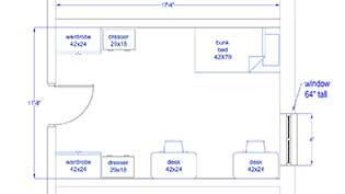 McChesney Room Layout